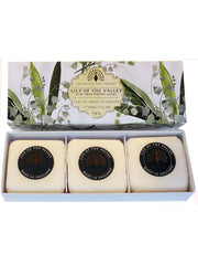 The English Soap Co. Lily of The Valley Gift Box Hand Soap