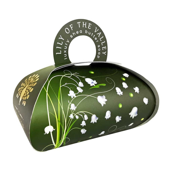 The English Soap Co. Lily of the Valley Large Gift Soap