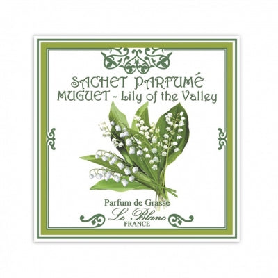 Le Blanc Lily of the Valley Scented Sachet