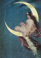 All Occasion   Greeting Card -Madame la lune