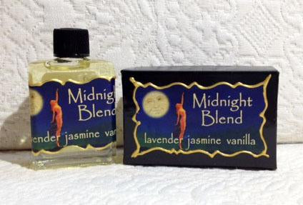 Seventh Muse Fragrant Oil - Midnight Blend
