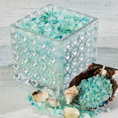 Sonoma OceanAire Bath Salts in Clear Dot Glass