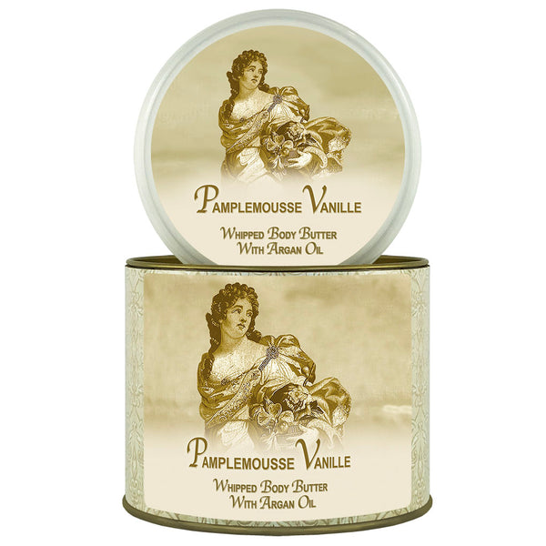 La Bouquetiere Pamplemousse Vanille Argan Oil Whipped Body Butter