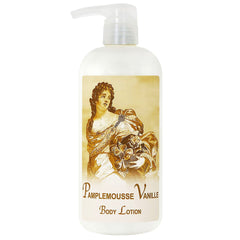 La Bouquetiere Pamplemousse (Grapefruit) Vanille Body Lotion