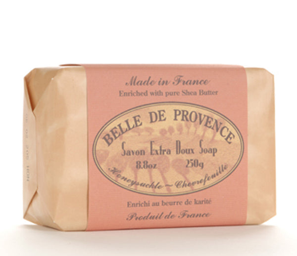 Belle de Provence Soap - Honeysuckle Chevrefeuille