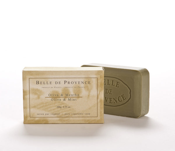 Belle de Provence Olive & Mint 200gm Soap