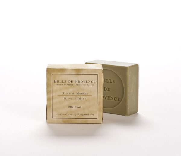 Belle de Provence Olive & Mint 100gm Soap