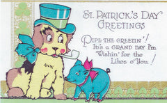 St. Patrick's Day Greeting Card - St. Patrick's Day Greetings