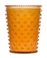 Simpatico NO. 28 PUMPKIN & CLOVE HOBNAIL GLASS CANDLE