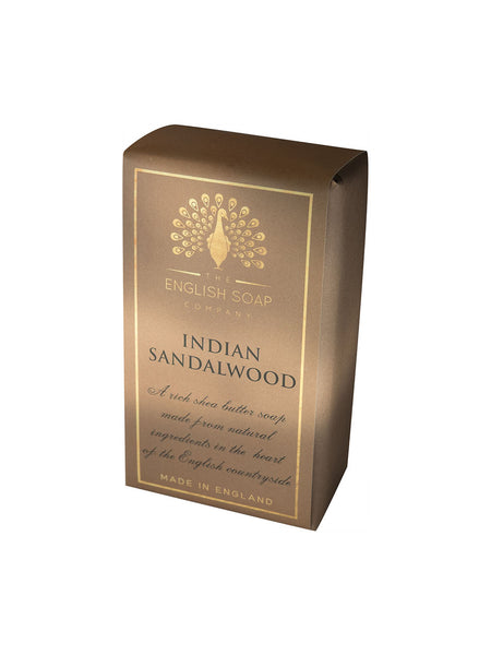 The English Soap Co. Pure Indulgence Indian Sandalwood Soap