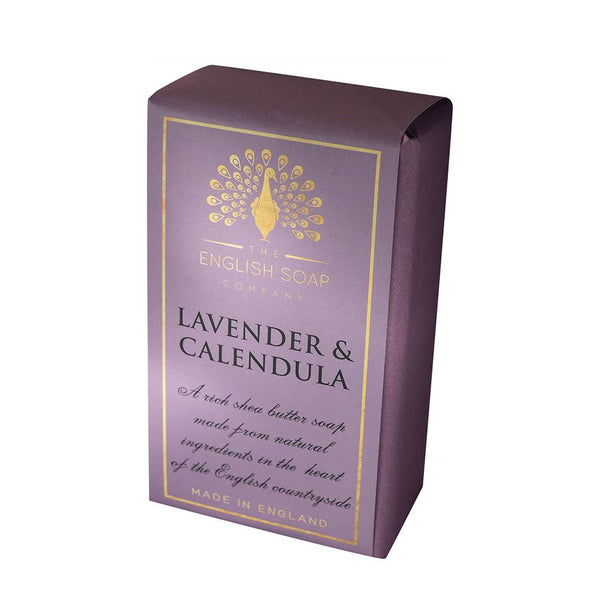The English Soap Co. Pure Indulgence Lavender and Calendula Soap