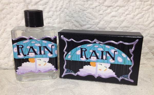 Seventh Muse Fragrant Oil - Rain