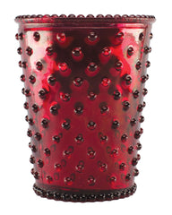Simpatico NO. 52 LIMITED EDITION REINDEER METALLIC HOBNAIL GLASS CANDLE