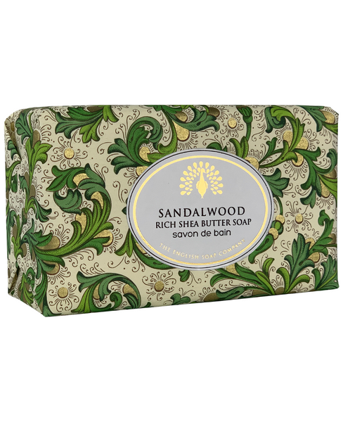 The English Soap Co. Sandalwood Vintage Italian Wrapped Soap