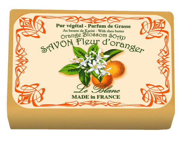 Le Blanc Wrapped Soap  - Orange Blossom
