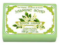 Le Blanc Jasmine Wrapped Soap