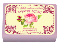 Le Blanc Rose Wrapped Soap