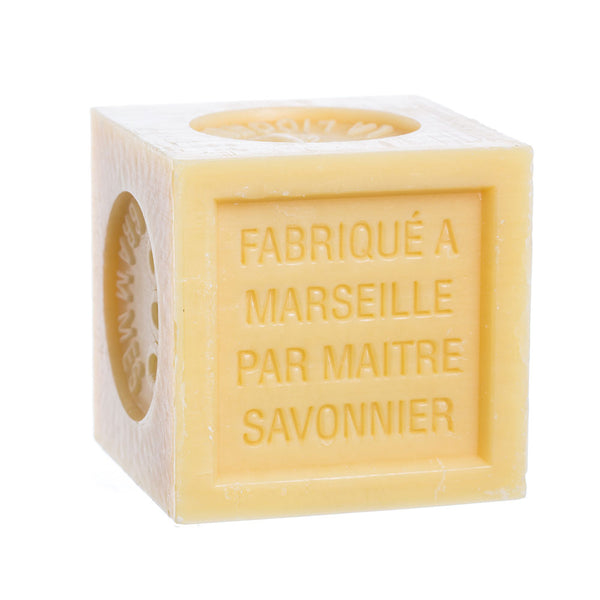 French Soaps Savon de Marseille with Crushed Flowers - Honey
