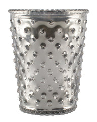 Simpatico NO. 53 LIMITED EDITION VANILLA BEAN METALLIC HOBNAIL GLASS CANDLE