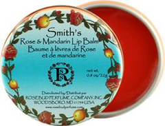 Smith's Rosebud Rose & Mandarin Lip Balm (0.8 oz) - Hampton Court Essential Luxuries
