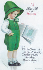 St. Patrick's Day Greeting Card - A Little Bit of Heaven