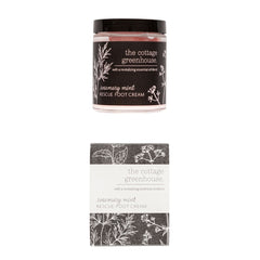 The Cottage Greenhouse Rosemary Mint Rescue Foot Cream