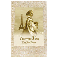 La Bouquetiere Violette de Paris Rice Powder Refill Bag