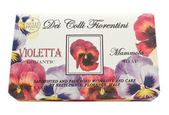 Nesti Dante Sweet Violet Romantic Soap - Hampton Court Essential Luxuries