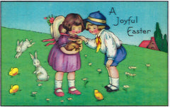 Easter Greeting Card - A Joyful Easter