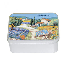 Le Blanc Provence Village Lavender  100gm Soap Tin