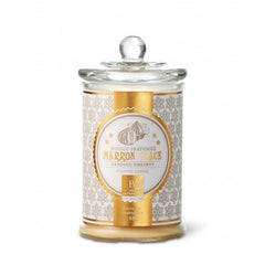 Bougies La Francaise Large Scented Candle in Glass Candy Jar - Candied Chestnut