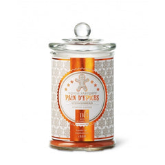 Bougies La Francaise Large Scented Candle in Glass Candy Jar - Gingerbread