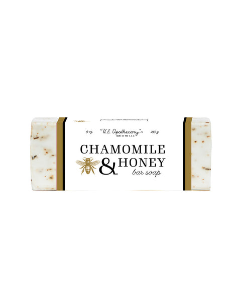 U.S. Apothecary CHAMOMILE & HONEY BAR SOAP