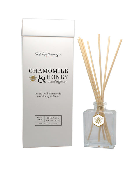 U.S. Apothecary CHAMOMILE & HONEY SCENT DIFFUSER KIT