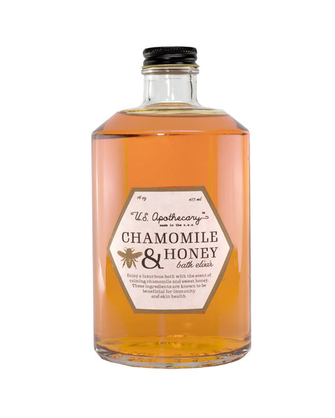 U.S. Apothecary CHAMOMILE & HONEY BATH ELIXIR