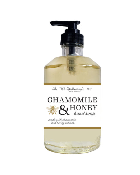 U.S. Apothecary CHAMOMILE & HONEY LIQUID SOAP