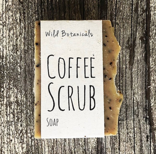 Wild Botanicals Coffee Scrub Soap