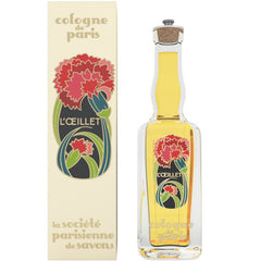 La Societe Parisienne de Savons Eau de Cologne Carnation - Hampton Court Essential Luxuries