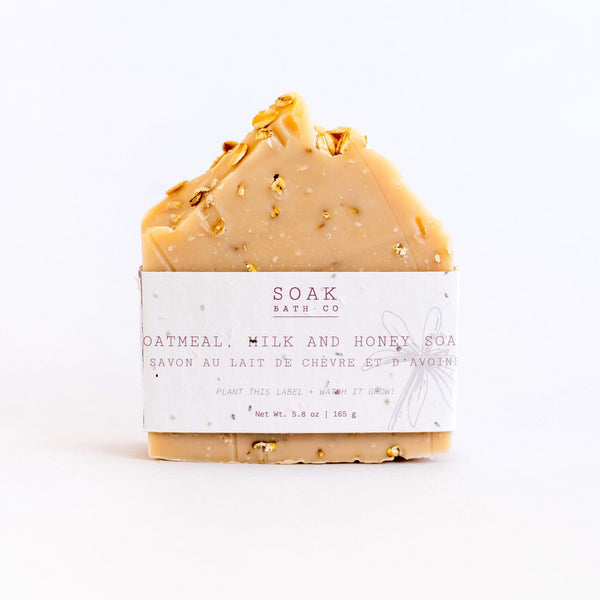 SOAK Bath Co. - Oatmeal Milk and Honey Soap