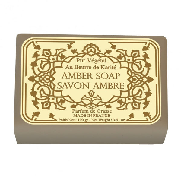 Le Blanc Amber Wrapped Soap