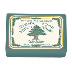 Le Blanc Cedar Wrapped Soap