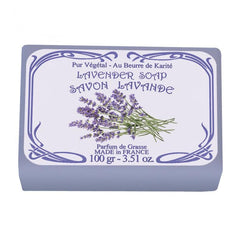 Le Blanc Wrapped Soap - Lavender