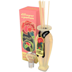 La Societe Parisienne de Savons Carnation Reed Diffuser - Hampton Court Essential Luxuries