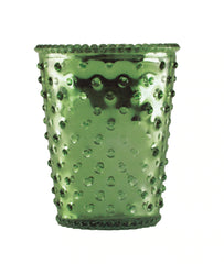 Simpatico NO. 78 EVERGREEN HOBNAIL GLASS CANDLE