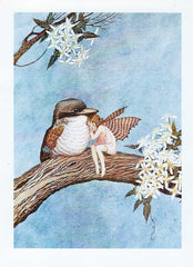 All Occasion Greeting Card - Fairy & Sparrow