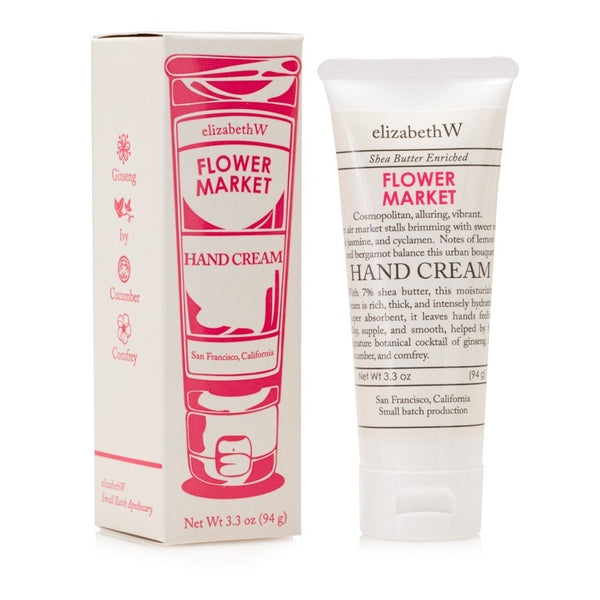 elizabeth W Small Batch Apothecary Flower Market Hand Cream