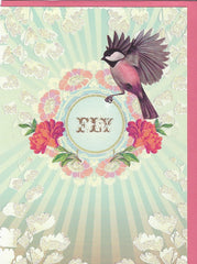 All Occasion Greeting Card - Taking Flight