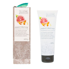 The Cottage Greenhouse Grapefruit & Blood Orange Hand & Body Light Lotion