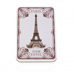 Le Blanc Assorted Guest Soaps Eiffel Tower 1900 Tin Box