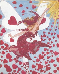 All Occasion Greeting Card -Heart Fairy
